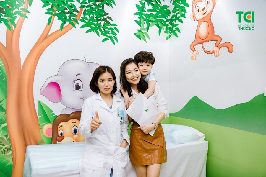 Phòng khám Nhi Thu Cúc là địa điểm được nhiều bậc phụ huynh tin tưởng và lựa chọn thăm khám cho trẻ nhỏ.