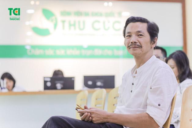 NSƯT Trung Anh hài lòng về chất lượng của Bệnh viện Thu Cúc