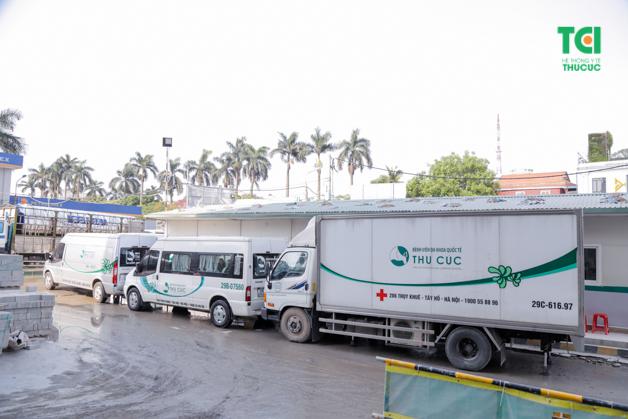 Xe lưu động của Bệnh viện đảm bảo chất lượng cao
