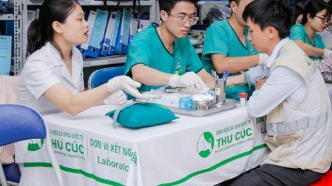 Bệnh viện ĐKQT Thu Cúc khám sức khỏe ngoại viện cho Ecoba