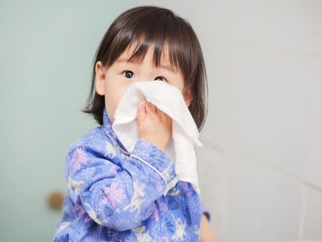 Cúm là nguyên nhân gây nghẹt mũi ở trẻ sơ sinh
