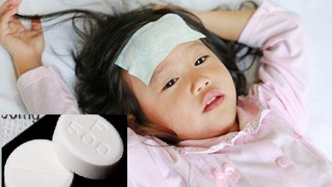 Trẻ bị ngộ độc paracetamol do ba mẹ dùng thuốc quá liều