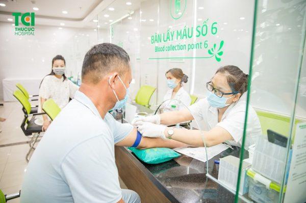 xét nghiệm chỉ số WBC thông qua xét nghiệm máu