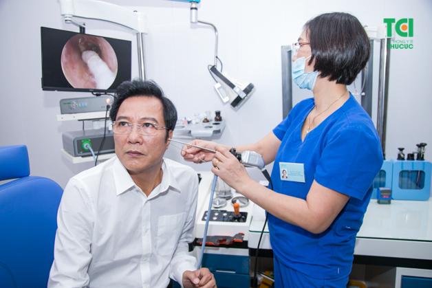 NSND Trọng Trinh luôn coi trọng vấn đề thăm khám sức khỏe theo định kỳ