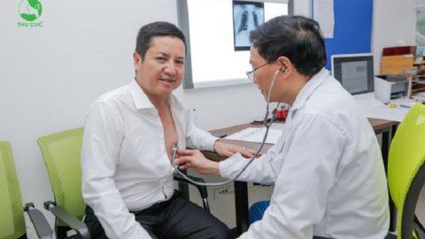 NSƯT Chí Trung lựa chọn khám sức khỏe tại Hệ thống Y tế Thu Cúc