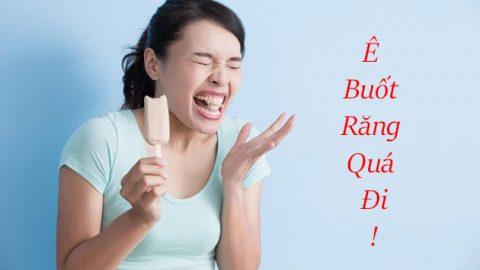3 Nguyên nhân chủ yếu khiến răng bị ê buốt
