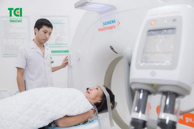 Hệ thống thiết bị y tế hiện đại tại Thu Cúc hỗ trợ tối đa cho việc chẩn đoán phát hiện sớm dấu hiệu bệnh lý tiềm ẩn