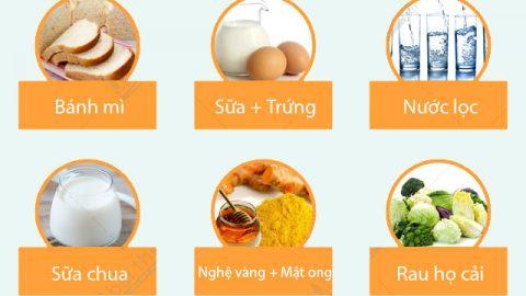 Những món ăn tốt nhất cho người đau dạ dày