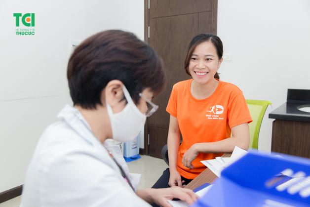 Thu Cúc đồng hành cùng người lao động để bảo vệ sức khỏe
