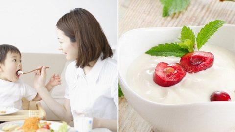 Bé bị tiêu chảy có ăn sữa chua được không?
