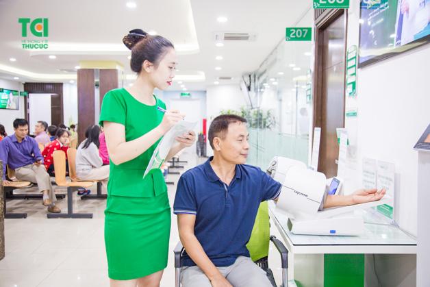 Chú Nguyễn Ngọc Vinh (56 tuổi) quyết định đi khám sức khỏe trước Tết để bảo vệ cơ thể