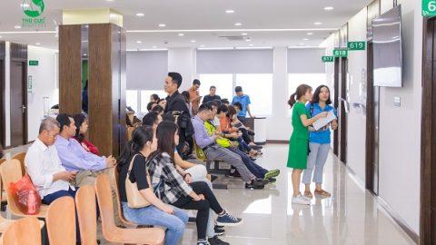 khám sức khỏe định kỳ cho nhân viên tại Bệnh viện Thu Cúc