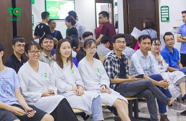Nhiều doanh nghiệp tin chọn Bệnh viện ĐKQT Thu Cúc là nơi thăm khám sức khỏe tuyển dụng
