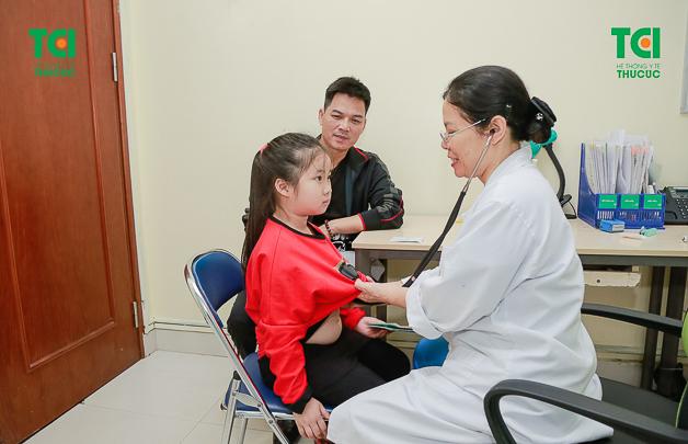 Thu Cúc - Địa chỉ kiểm tra sức khỏe cho bé được nhiều phụ huynh tin chọn