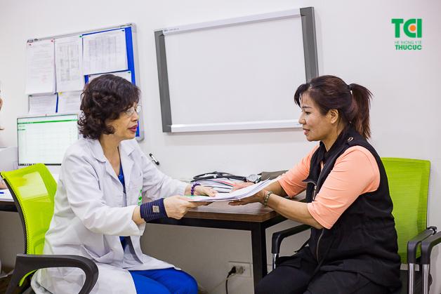 Cô Mến hy vọng mọi người nên ý thức đi thăm khám sức khỏe định kỳ để phát hiện bệnh sớm và điều trị kịp thời