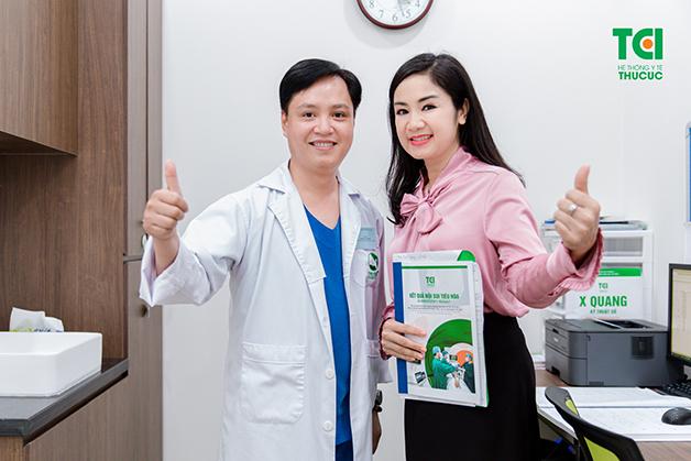 Cô Thường rất hài lòng với các dịch vụ chăm sóc sức khỏe tại Thu Cúc