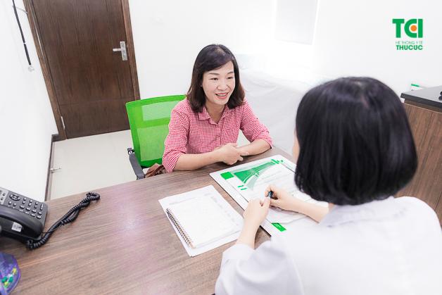 Người bệnh luôn nhận được sự tư vấn tận tình từ đội ngũ y bác sĩ giỏi, nhiều năm kinh nghiệm