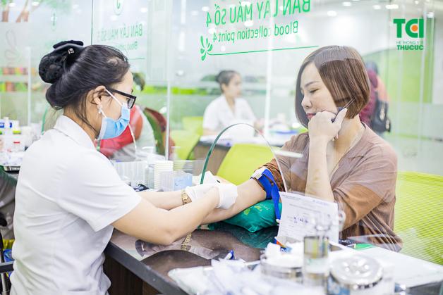 Xét nghiệm máu là chỉ định cần thiết khi đăng ký khám sức khỏe tổng thể