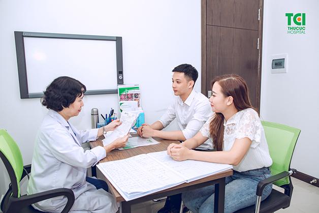 Khám sinh sản tại Bệnh viện Đa khoa Quốc tế Thu Cúc bao gồm các dịch vụ dành cho cả nam và nữ.