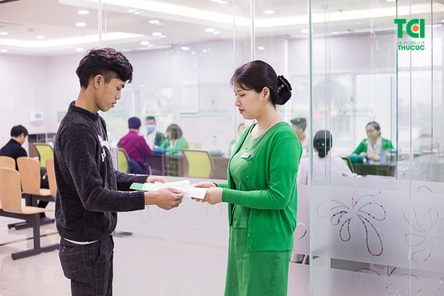 Anh Đình Hưng lựa chọn thăm khám tại Thu Cúc để trải nghiệm dịch vụ y tế chất lượng cao