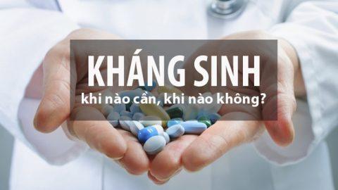 """Nguy hiểm """"rình rập"""" nếu dùng thuốc kháng sinh"""