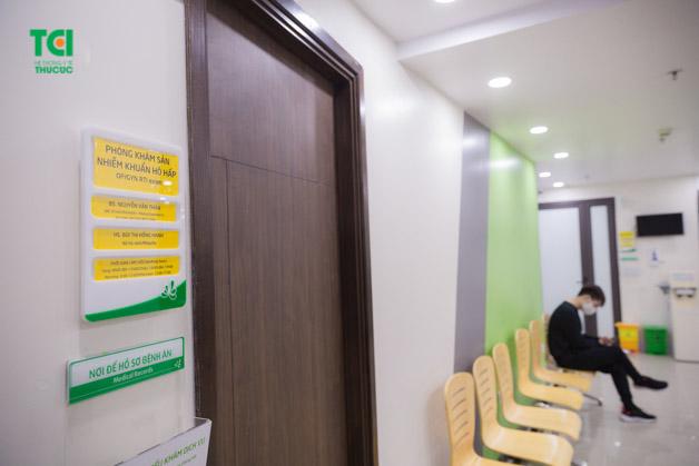 Khu vực khám cho người bệnh nhiễm khuẩn hô hấp không