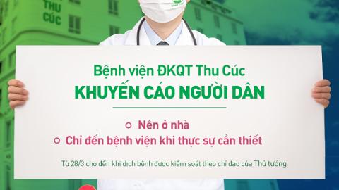 Bệnh viện ĐKQT Thu Cúc tư vấn khám chữa bệnh online miễn phí