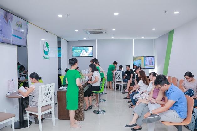 Với khả năng đón tiếp 1000 khách/ngày, Bệnh viện Thu Cúc là đơn vị có khả năng đáp ưng nhu cầu thăm khám cho những doanh nghiệp có số lượng nhân viên lớn