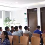 Khám sức khỏe đoàn công ty TNHH Quốc Tế Vinata tại Thu Cúc
