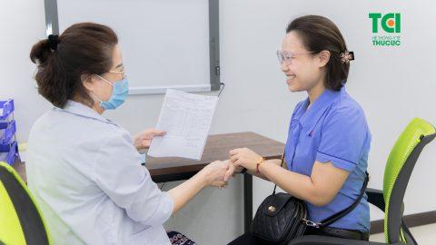 Khám sức khỏe cho nhân viên công ty Sài Gòn Co.op