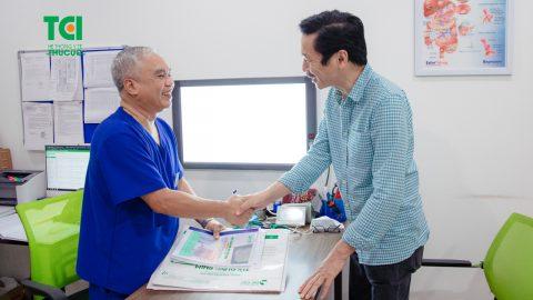 NSND Trung Anh – Khám sức khỏe