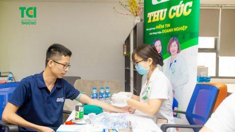Công ty VTC Mobile khám sức khỏe tại Bệnh viện ĐKQT Thu Cúc