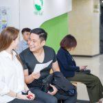 Diễn viên Minh Tiệp khám sức khỏe tại Bệnh Viện ĐKQT Thu Cúc
