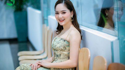 Diễn viên Lan Phương tham gia Ngày hội sức khỏe gia đình