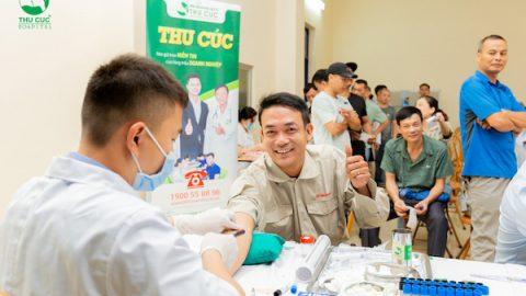 Công ty Sơn tổng hợp Hà Nội khám sức khỏe tại Thu Cúc TCI