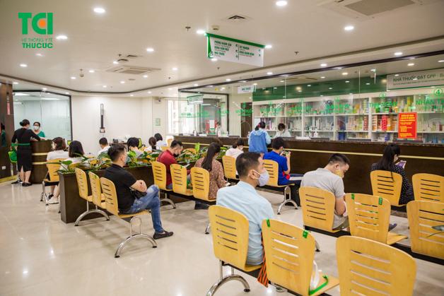 Bệnh viện Thu Cúc đạt điểm số cao ở mọi hạng mục, trong đó đạt điểm tối đa ở 2 hạng mục là Vệ sinh bệnh viện và Các biện pháp đề phòng chung.
