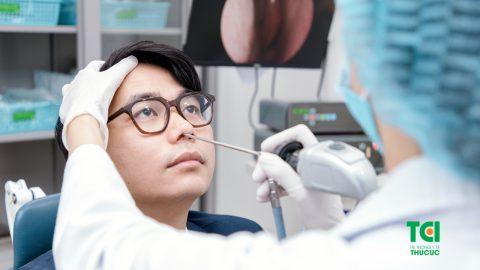 Nội soi tai mũi họng ống mềm giảm 25%
