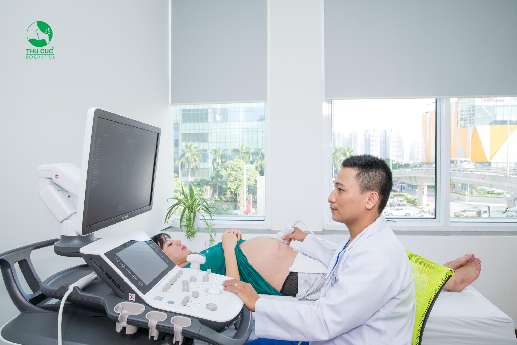 Siêu âm là cách kiểm tra chính xác lượng ối có ở mức bình thường hay không