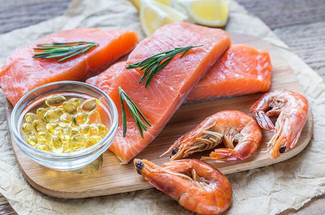 Axit béo omega3 trong hải sản rất tốt cho trí não của mẹ sau sinh mổ - Sau sinh mổ bao lâu được ăn hải sản