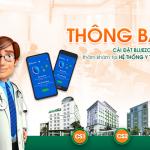 Thông báo: Cài đặt Bluezone khi đến thăm khám tại Hệ thống Y tế Thu Cúc