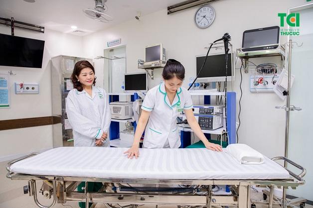 Nội soi tiêu hóa êm ái, sạch sẽ khiến người bệnh thoải mái như nghỉ dưỡng