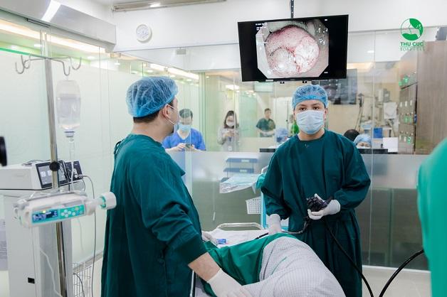 Nội soi dạ dày - đại tràng giúp phát hiện và xử lý các bất thường tại ống tiêu hóa