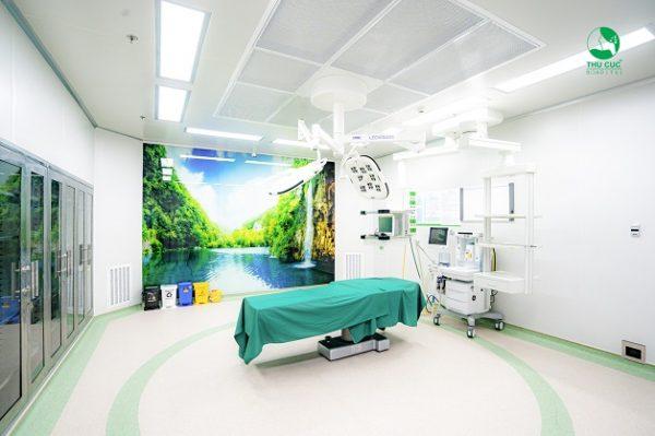 Phòng mổ vô khuẩn một chiều của TCI Hospital