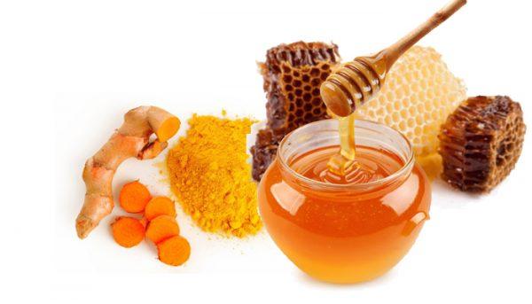 Tinh bột nghệ và mật ong là sự kết hợp hoàn hảo trong điều trị đau dạ dày