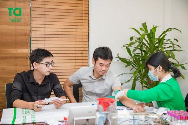 khám sức khỏe công ty Thịnh Điền