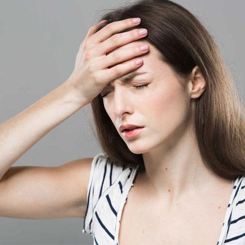 đau nửa đầu chóng mặt buồn nôn