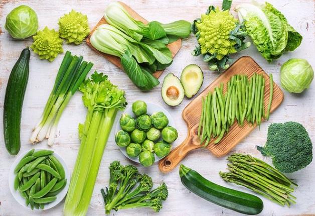 Các loại rau xanh là đáp án cho câu hỏi hội chứng ruột kích thích nên ăn gì