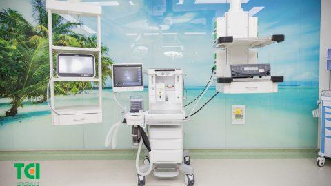 Trang thiết bị y tế hiện đại, máy móc tối tân