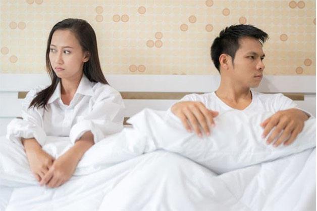 tình trạng xuất tinh sớm kéo dài dễ gây rạn nứt hôn nhân