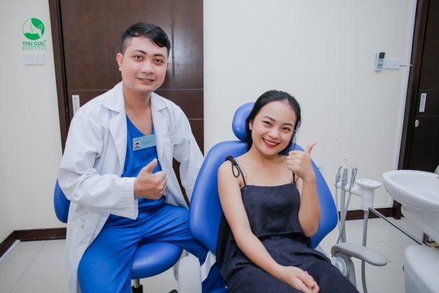 Sau khi cấy implant, khách hàng không cảm thấy khó chịu, vướng víu và có thể trở lại ngay với cuộc sống sinh hoạt